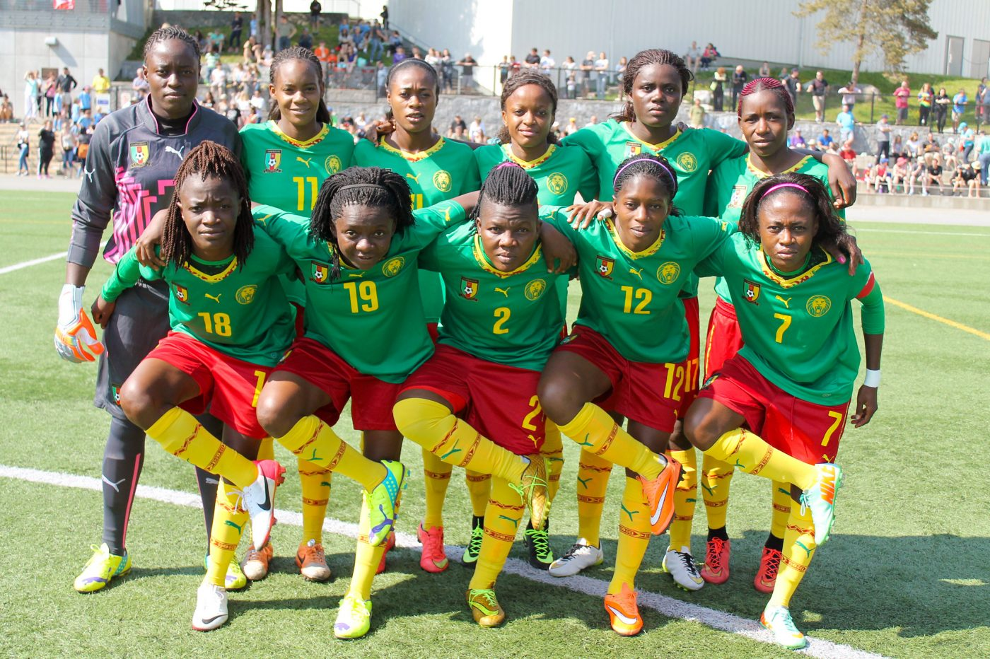 Cameroon FIFA Team Photo